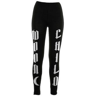 pants women (leggings) BLACK CRAFT - Moon Child - Black - WL005MD
