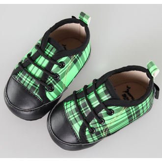 low sneakers children's - Black/Green - LITTLE DIAMOND - 59137-011, LITTLE DIAMOND