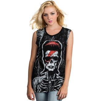 top women (tunic) TOO FAST - Skeleton Bowie - Multi, TOO FAST, David Bowie