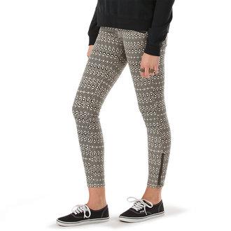pants women VANS - Moto Skinny Denim - Creme - VX7GCUO