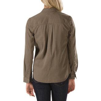 shirt women's VANS - Tavern Woven - Canteen, VANS