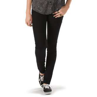 pants women VANS - Skinny Denim - Black Rinse - VYBU10D