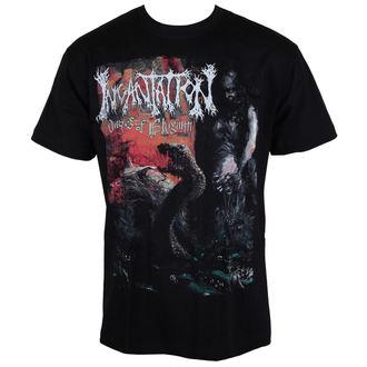 t-shirt metal men's women's unisex Incantation - Dirges Of Elysium Band - CARTON, CARTON, Incantation