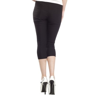 pants 3/4 women SOURPUSS - Sugar Pie - Black, SOURPUSS