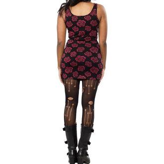 dress women SOURPUSS - Omni Roses Tank - Black, SOURPUSS