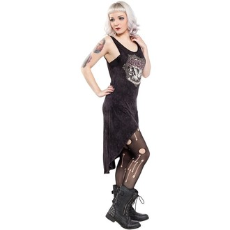 dress women SOURPUSS - Hi Low Omni - Black, SOURPUSS