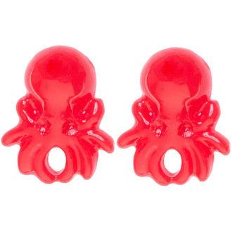 earrings SOURPUSS - Octopus - Red - SPEA21