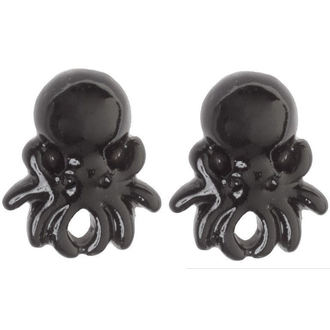 earrings SOURPUSS - Octopus - Black - SPEA22