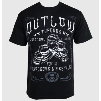 t-shirt men's women's unisex - Hardcore - OUTLAW THREADZ - MT19