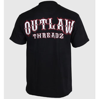 t-shirt men's women's unisex - Fallen - OUTLAW THREADZ, OUTLAW THREADZ