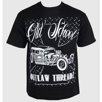 t-shirt men's women's unisex - Old School - OUTLAW THREADZ, OUTLAW THREADZ