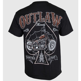t-shirt men's women's unisex - Spade - OUTLAW THREADZ, OUTLAW THREADZ