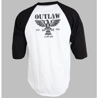 t-shirt men's women's unisex - Crest - OUTLAW THREADZ, OUTLAW THREADZ