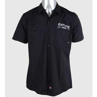 shirt men Outlaw Threadz - Pin Stripe, OUTLAW THREADZ