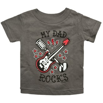 t-shirt metal men's women's children's unisex - My Dad Rocks - SOURPUSS, SOURPUSS