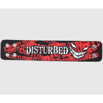 bracelet Disturbed - Crazy Face - Bravado, BRAVADO, Disturbed