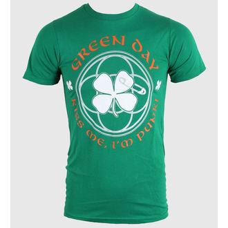 t-shirt metal men's women's unisex Green Day - Irish - BRAVADO, BRAVADO, Green Day