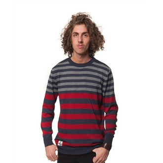 sweater men's Horsefeathers - MAGNETIC - Ruby
