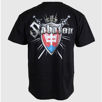 Metal T-Shirt men's women's unisex Sabaton - Swedisch - CARTON - K_485