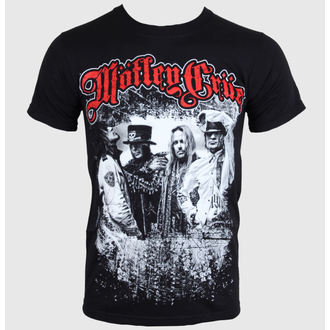 t-shirt metal men's women's unisex Mötley Crüe - Greatest Hits Bandshot - ROCK OFF, ROCK OFF, Mötley Crüe