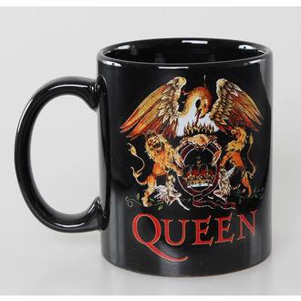 cup Queen - Classic Crest - Black - ROCK OFF, ROCK OFF, Queen