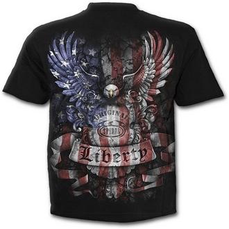 t-shirt men's women's unisex - LIBERTY USA - SPIRAL
