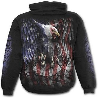 hoodie men's - LIBERTY USA - SPIRAL - E014M451