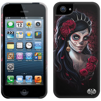 cover to cell phone SPIRAL - DAY OF THE DEAD - Iphone - DW205574