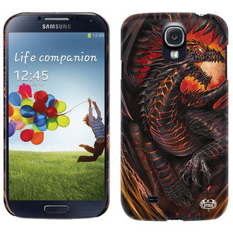 cover to cell phone SPIRAL - DRAGON FURNACE - Samsung, SPIRAL