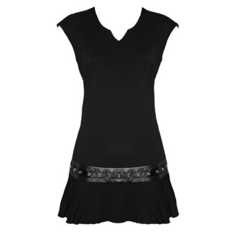 dress women SPIRAL - F STUDWAIST - Black - PL255