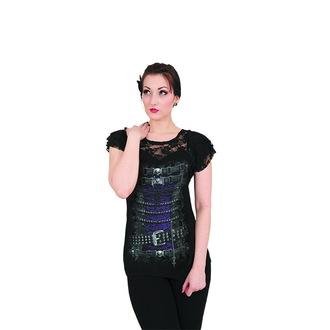t-shirt women's unisex - WAISTED CORSET - SPIRAL - T085F721