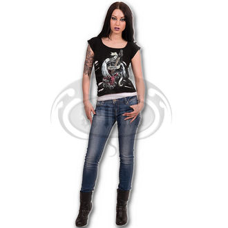 t-shirt men's women's unisex - ROCK ANGEL - SPIRAL - T091F710