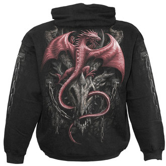 hoodie men's - DRAGON HERITAGE - SPIRAL - T099M451
