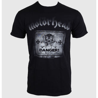 t-shirt metal men's women's unisex Motörhead - Danger - ROCK OFF - MHEADTEE27MB