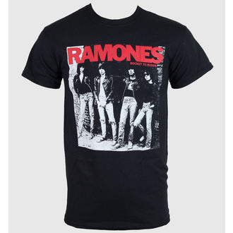 t-shirt metal men's women's unisex Ramones - Rocket To Russia - ROCK OFF, ROCK OFF, Ramones