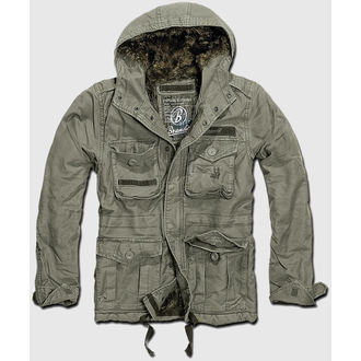 jacket men winter BRANDIT - Vintage Diamond - Olive - 3102/1