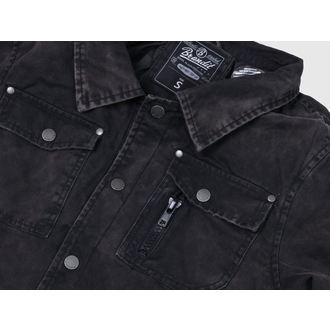 jacket men winter BRANDIT - Dayton - Black - 3139/2