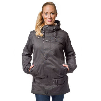 jacket women's winter Horsefeathers - TRINITY - Anthracite - SW487A