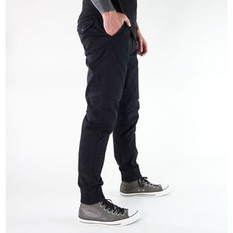 pants men GLOBE - Goodstock - GB01436007 - BLACK