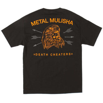 t-shirt street men's - FREEBERD - METAL MULISHA - M345S18314.01_BLK