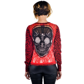 sweater women's TOO FAST - SKULL, TOO FAST