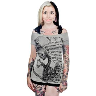 t-shirt gothic and punk women's - LOVE IS... - TOO FAST - WTAB-LOVE