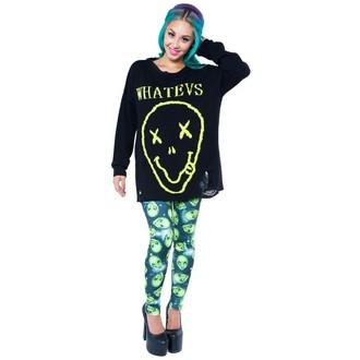 sweater women's IRON FIST - WHATEVS - BLACK