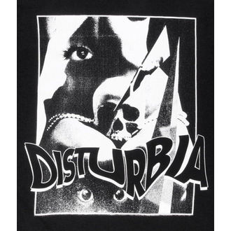 top womens (tunic) Disturbia - Remember The Future - Black - DIS419