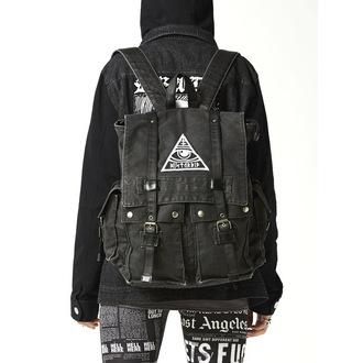 backpack Disturbia - All-Seeing - Grey, DISTURBIA