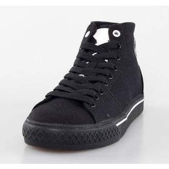 high sneakers women's Misfits - Misfits High Top - IRON FIST - Black, IRON FIST, Misfits