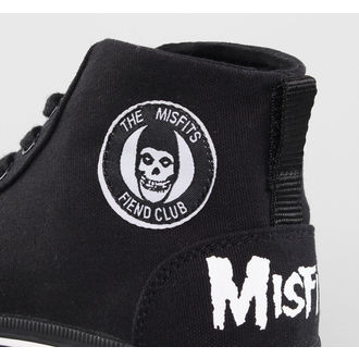 high sneakers women's Misfits - Misfits High Top - IRON FIST - Black