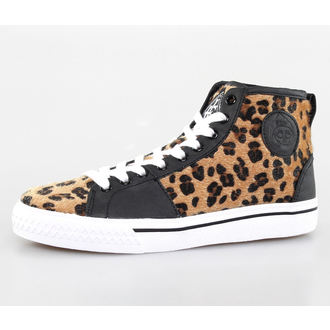 high sneakers women's - Leopard Broadway High - IRON FIST, IRON FIST
