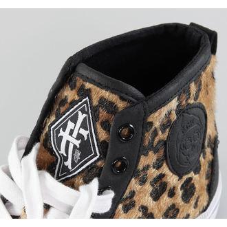 high sneakers women's Leopard Broadway High - IRON FIST - IFUVUL610F14
