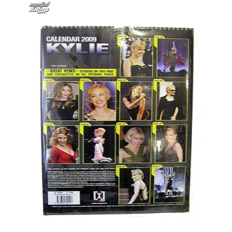 calendar to year 2009, NNM, Kylie Minoque